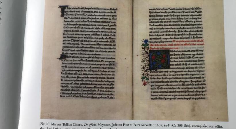 «Près de 90% des livres anciens ont déjà été étiquetés pour le déménagement», explique Thierry Dubois, conservateur des imprimés anciens à la BGE. GIM