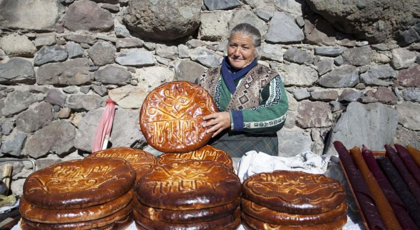 Saveurs de la cuisine arménienne.
