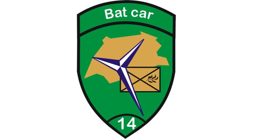 Écusson du Bat Car 14
