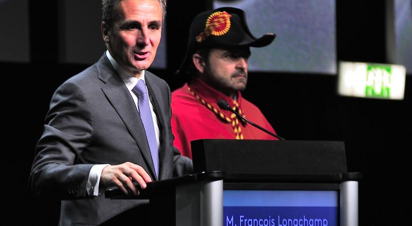 François Longchamp. Président du Conseil d'Etat. Crédit photo : Stéphane Chollet