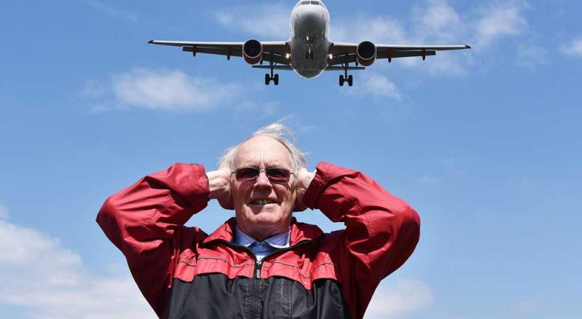 «Il y aura un décollage et un atterrissage toutes les minutes et demie!» Mike Gérard, président de l'association des riverains de l'aéroport.