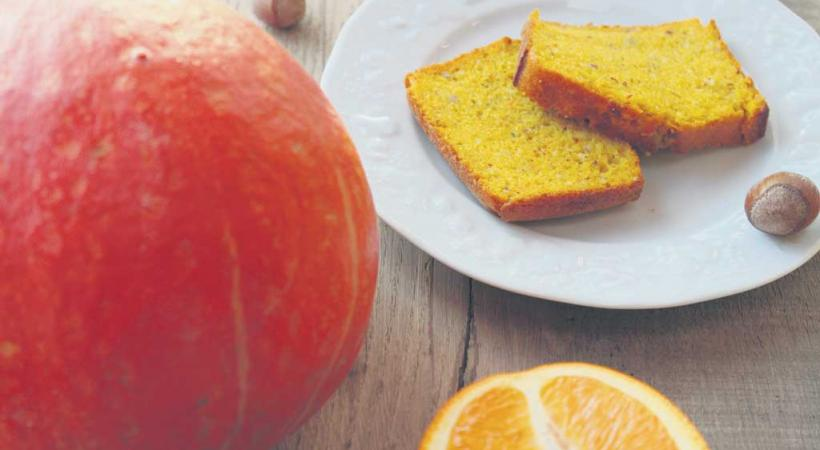 Cake au potimarron et à l'orange