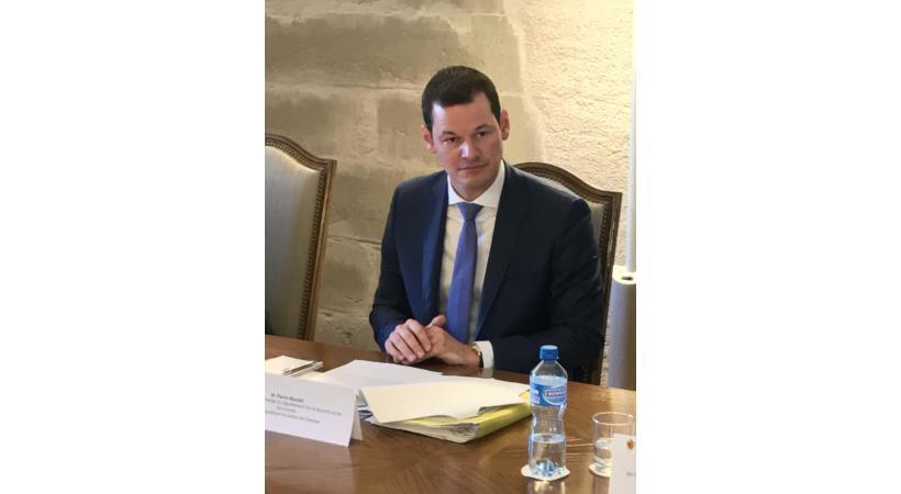 Le conseiller d'Etat Pierre Maudet. GIM