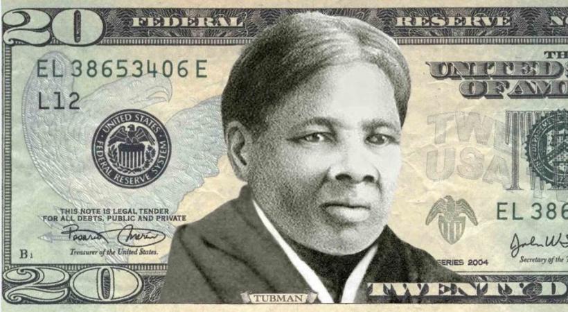 Harriet Tubman sur le billet de 20 dollars USD