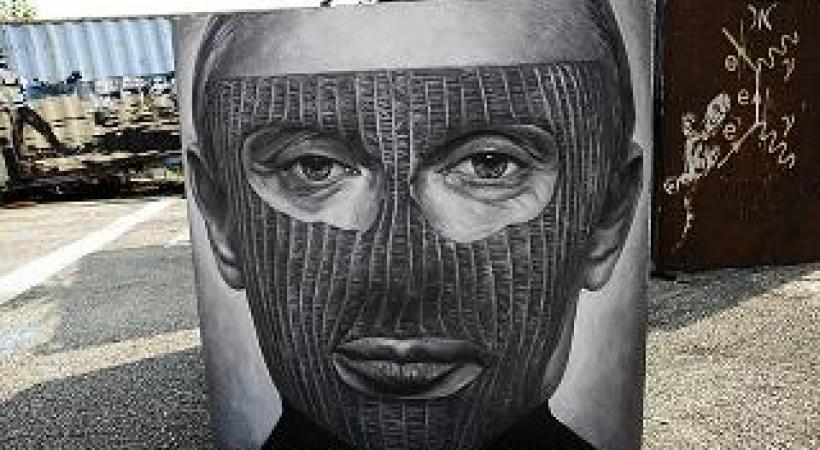 Vladimir Poutine. Adobe of Chaos