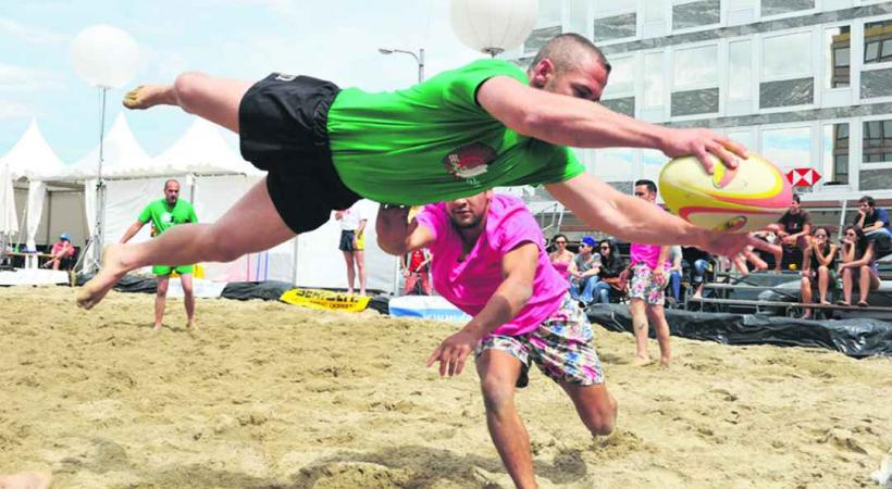 Ce festival de beach rugby se déroulera sur le sable chaud de la place du Rhône.