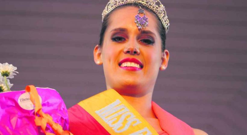 Constance, Miss Fêtes de Genève 2012.