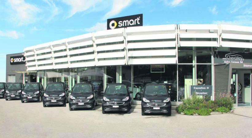 Le garage Autos Carouge du Groupe Chevalley présente sa nouvelle collection de Smart 100% électriques.