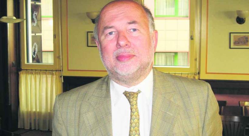 Le député PLR Pierre Weiss, un homme qui a le sens du détail.