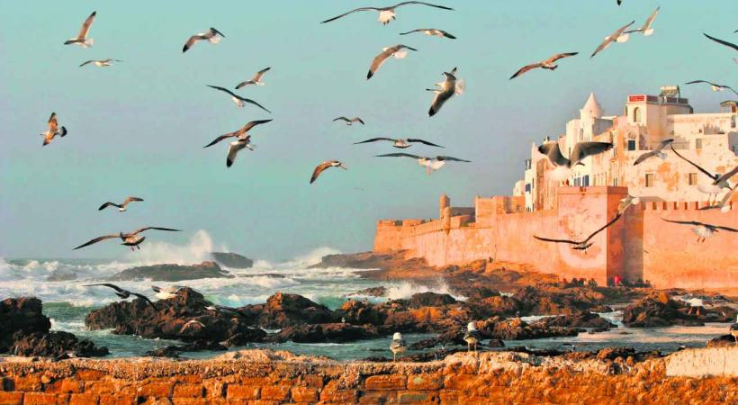 Au bord de l'Atlantique, Essaouira, l'ancienne Mogador.