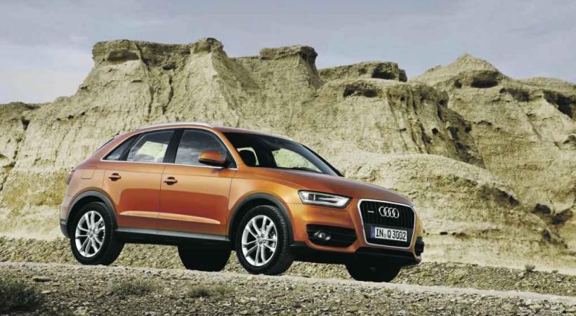 L'Audi Q3 suit les Q7 et Q5, en attendant le plus compact, Q1.