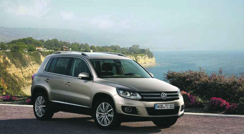 Impressionnant accueil pour le VW Tiguan, dont les ventes ont rapidement explosé.
