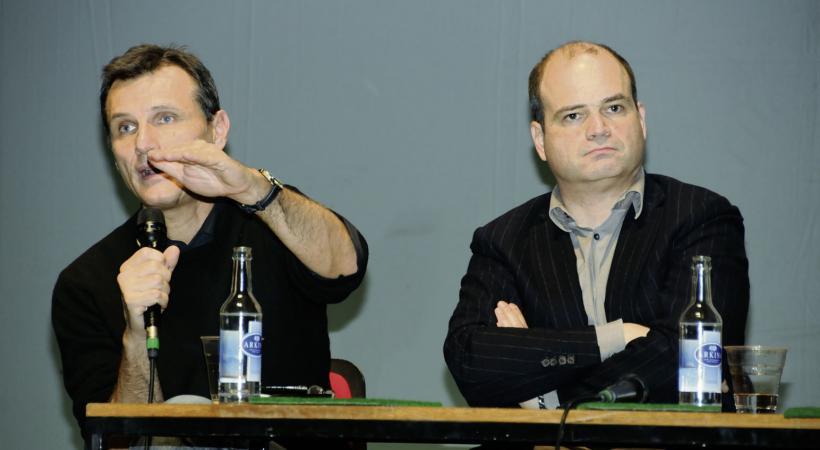 Charles Beer et Sami Kanaan.