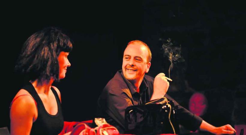 Viviane Bonelli et Christian Savary, un duo particulièrement complice.