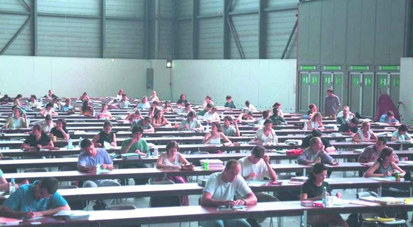 Palexpo accueille les universitaires depuis une vingtaine d'années.