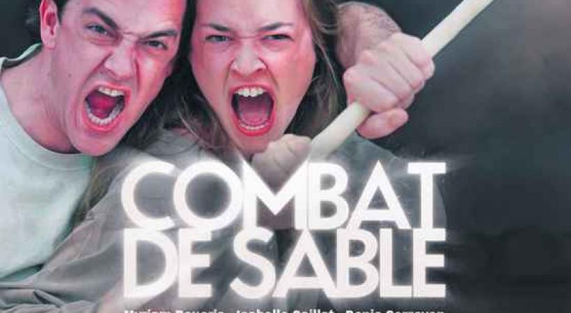 Combat de sable - La Traverse propose jusqu'au 6 octobre 2012