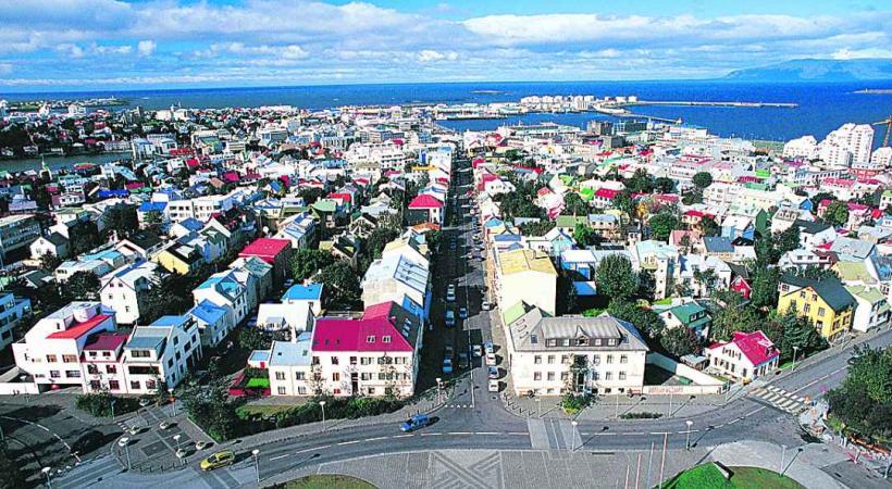 La capitale Rekjavik est le point de départ de la plupart des circuits touristiques.