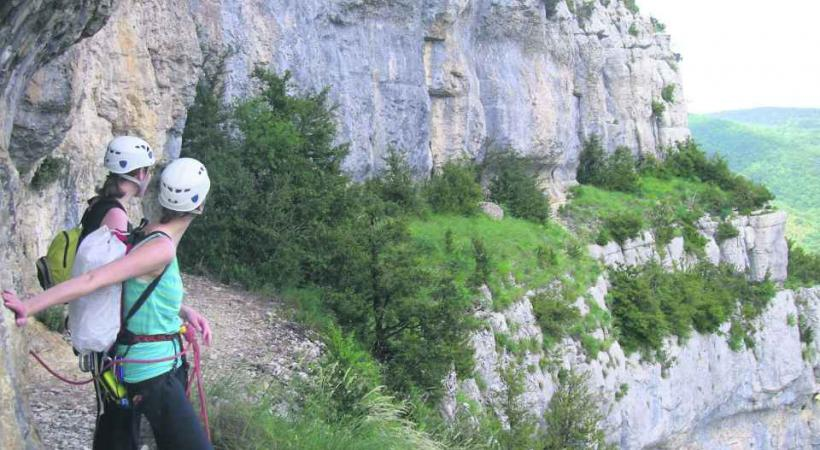 Frissons garantis sur le Sentier du Vertige.