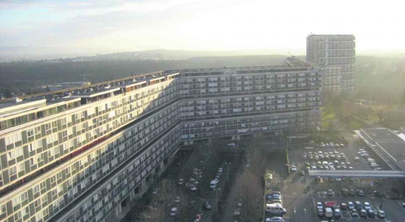 Les tours du Lignon comptent des centaines de places de parking en sous-sol.
