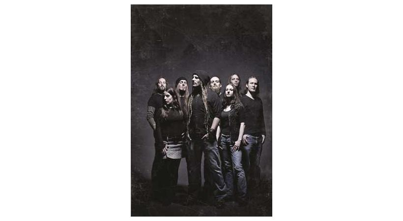 Le groupe suisse Eluveitie.