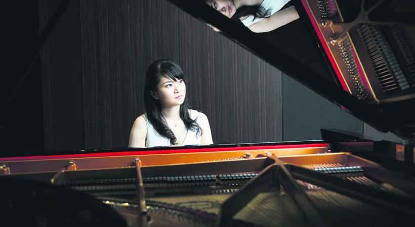 Mami Hagiwara, jeune talent venu du Japon.