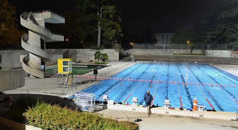 Le bassin extérieur de la piscine de Marignac est actuellement fermé au public. ALAIN GROSCLAUDE