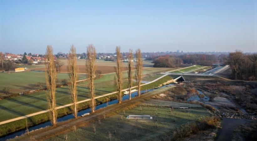 L'Aire. Plus de 40 kilomètres de rivières ont été renaturés dans le canton. GE.CH