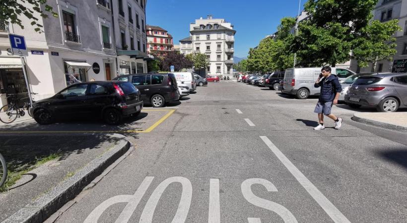 Au lieu d'un parking, une place «conviviale et propice à la détente».MARIE PRIEUR