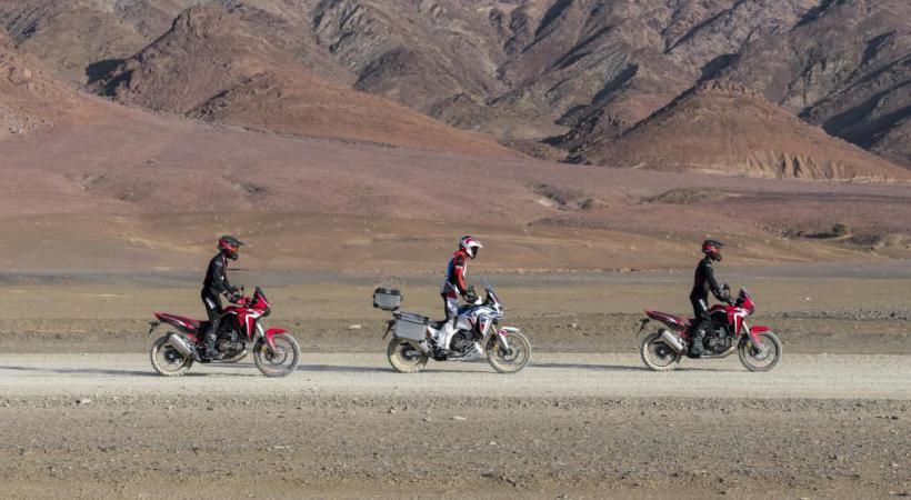 La Kawasaki Ninja 1000 SX fait partie des motos testées par le Touring club suisse (TCS), comme la Ducati et la Honda, toutes trois bien notées.