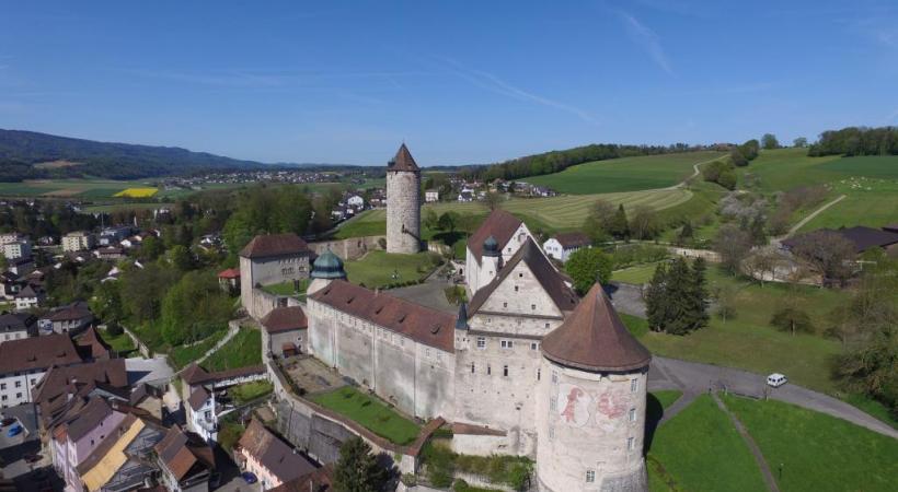 Le château de Porrentruy.