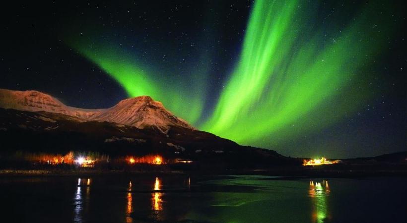 Un phénomène naturel souvent furtif qu'on peut admirer dans les pays nordiques. DR