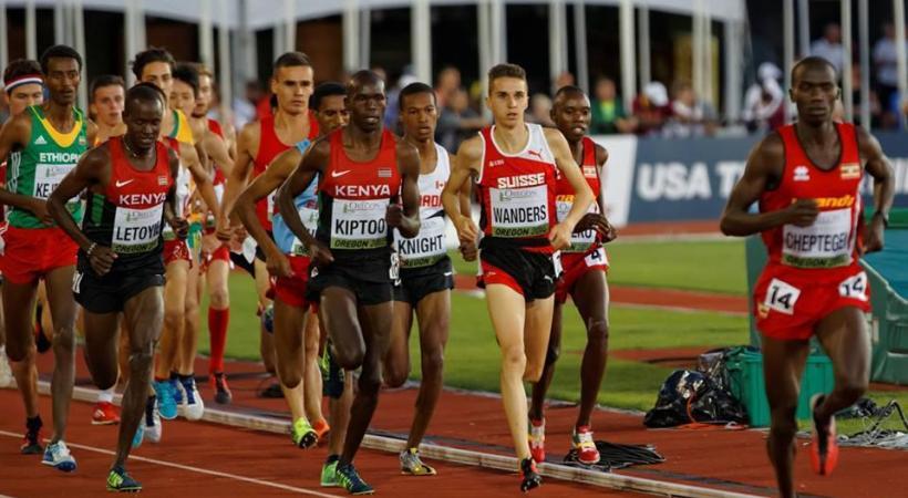 Le Genevois Julien Wanders visera l'or sur 5000 mètres. DR