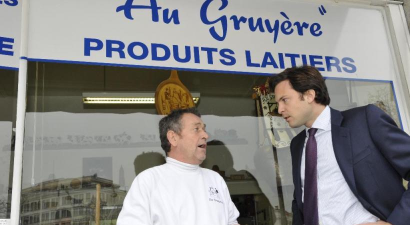 Le magistrat PDC Guillaume Barazzone se pose en défenseur des petits commerçants.  DAVID ROSEMBAUM-KATZMAN