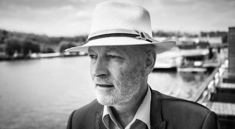Gil Egger, rédacteur en chef de 1989 à 2006. MICHAEL AMMANN