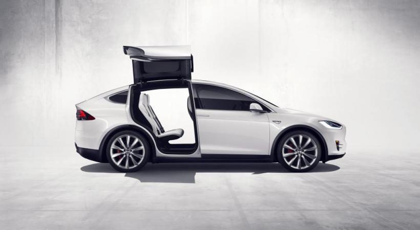 Tesla a finalisé son crossover Model X