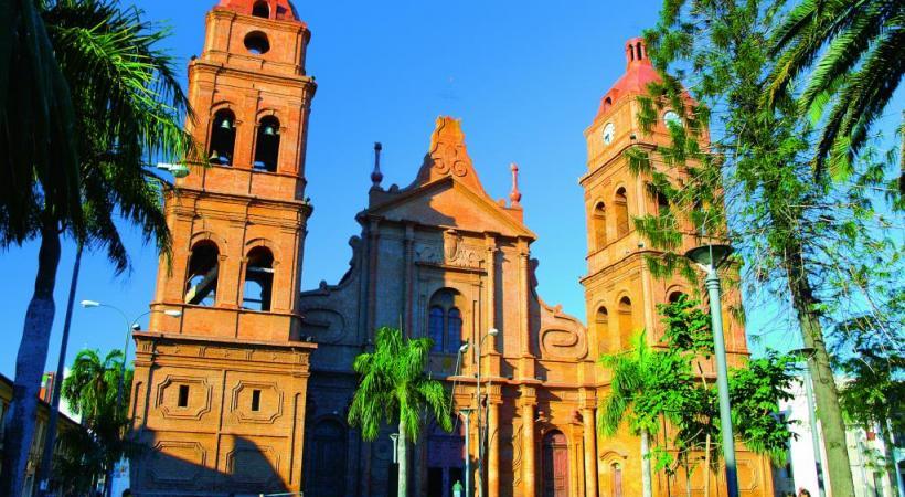 La cathédrale de Santa Cruz. PYTY CZEH