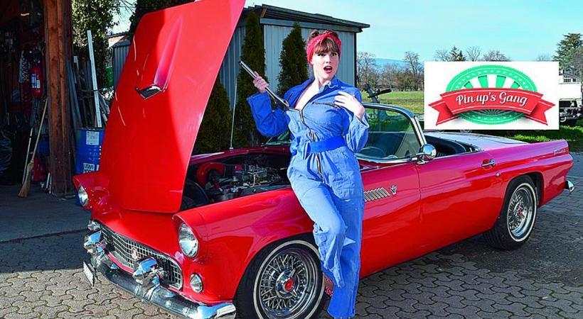 Les amateurs de véhicules de collection ont rendez-vous à Athenaz le week-end prochain. DR