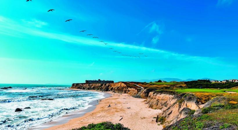 A deux heures de Frisco, les plages de Santa Cruz promettent le dépaysement. DR