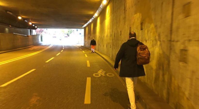 En ville de Genève, 45% des déplacements se font à pied. THIBAULT SCHNEEBERGER7DR