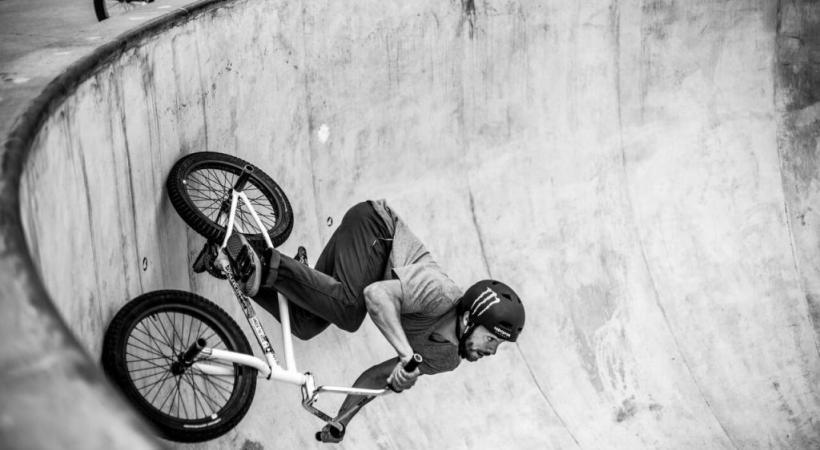 Danseurs, skateurs, MBXeurs offriront des spectacles grandioses au Skatepark recouvert d'une grande charpente de bois clair. MATHIEU PONCET (LCU MEDIA)