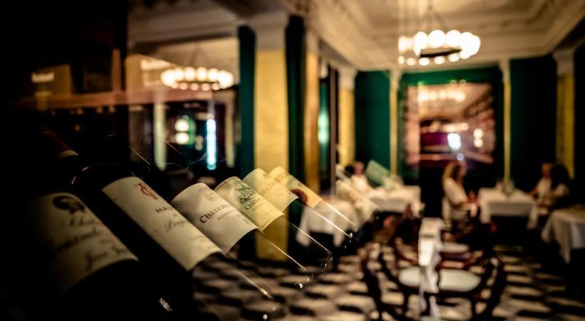 A l'origine, «Le Lyrique» s'appelait la «Brasserie Bâle-Strasbourg». PHOTOS DR
