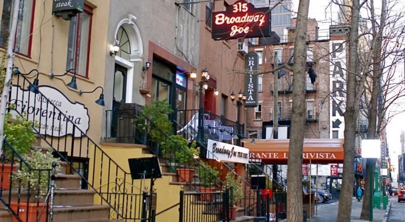 Hell's Kitchen, le quartier de l'actuelle movida new-yorkaise.