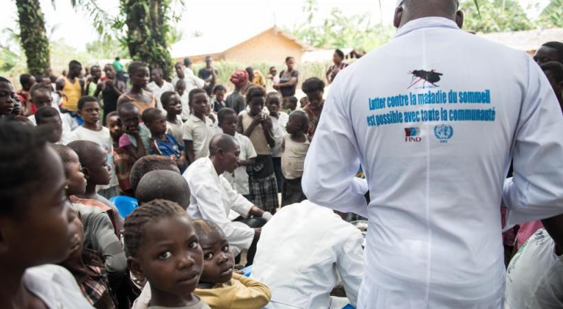 Le continent africain est la cible de nombreuses malades tropicales.  NEIL BRANDVOLD-DNDI