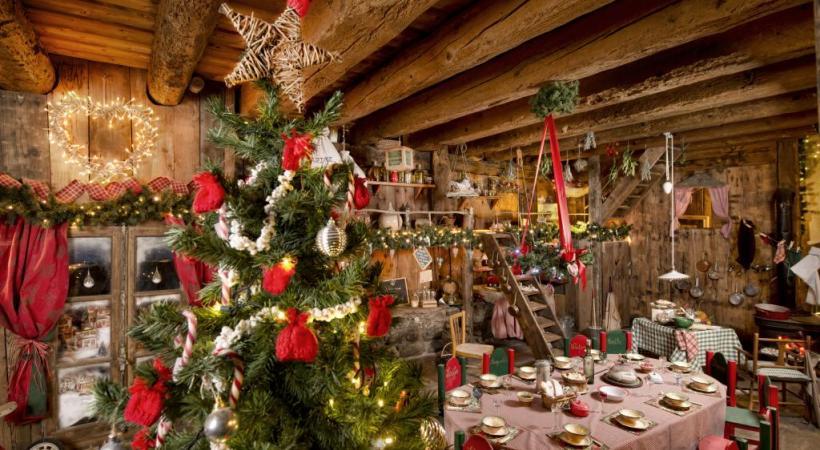 Des décors féeriques au Hameau du Père Noël à Andilly, en France voisine. P. LEBEAU