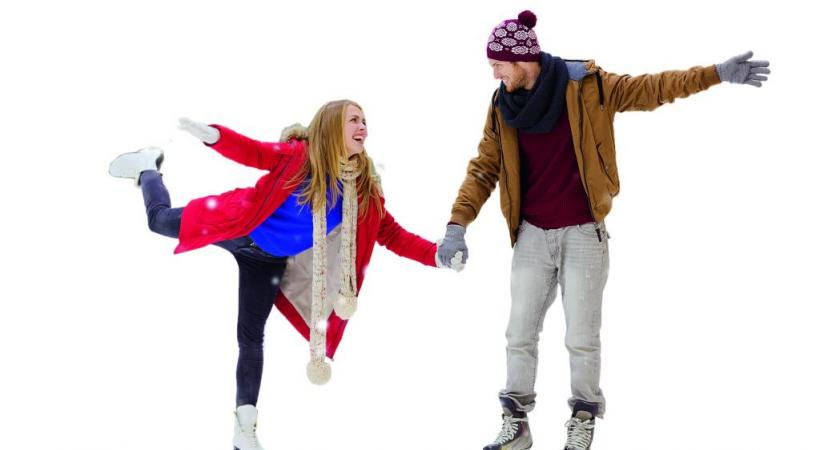 La magie du patin à glace sous les flocons. 123RF/DOLGACHOV La magie du patin à glace sous les flocons. 123RF/DOLGACHOV