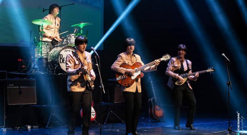 Les musiciens italiens font revivre les «Fabulous Four» sur scène. DR