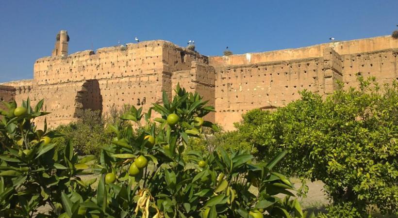 Le palais Al-Badi.