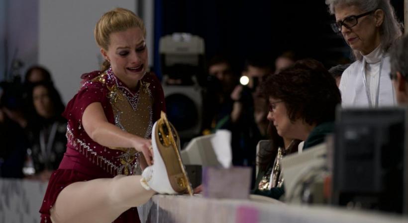 L'actrice Margot Robbie, poignante dans le rôle de Tonya Harding.