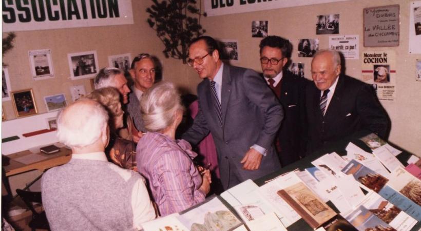 Jacques Chirac, le champion toutes catégories de la dimension physique de la politique.  WIKIMEDIA COMMONS/PLANTAGENETS