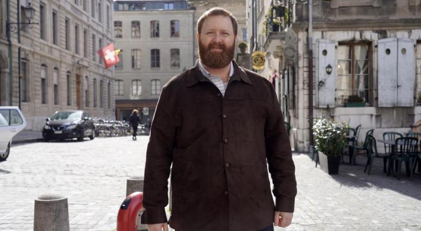 Erwin Sperisen est en liberté provisoire depuis six mois. CHRISTIAN BONZON Le bracelet électronique que porte Erwin Sperisen. CHRISTIAN BONSON